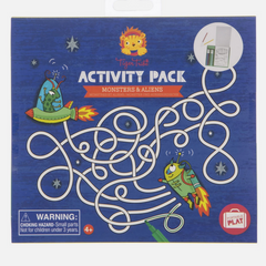 Activity Pack - Monsters and Aliens 4+yrs