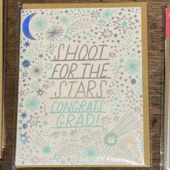 SHOOT FOR THE STARS-Congratulations Grad