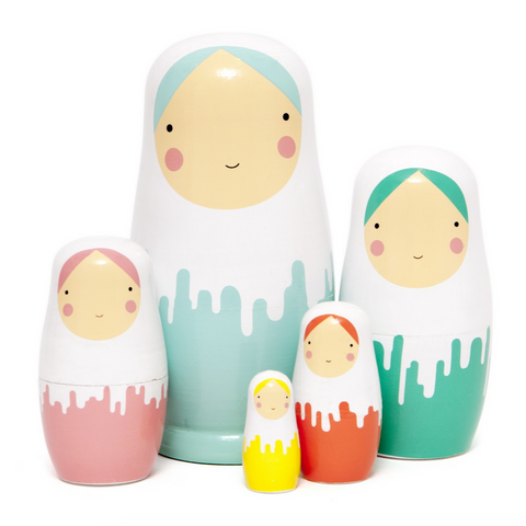 Nesting Dolls- Dripped Dolls