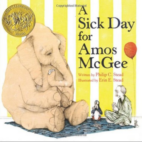 A Sick Day For Amos McGee -Book & CD Storytime Set (2-6yrs)