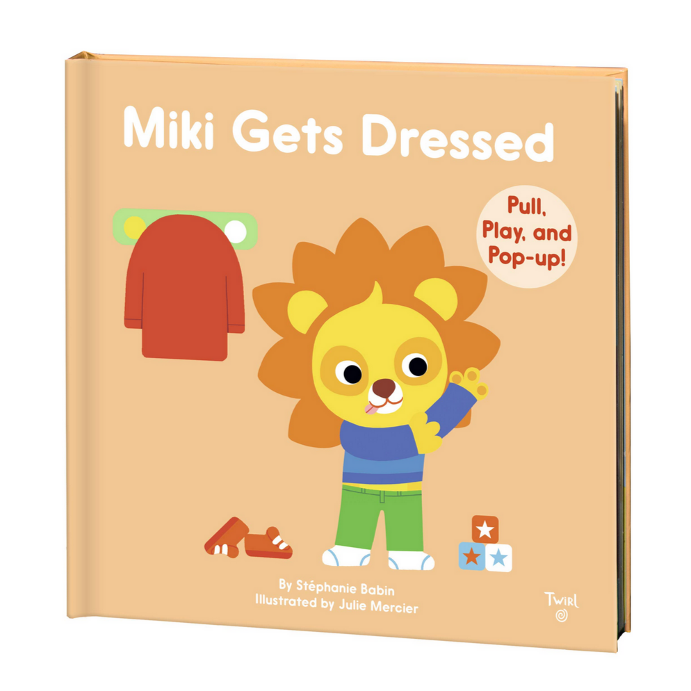 Miki Gets Dressed (0-3yrs)