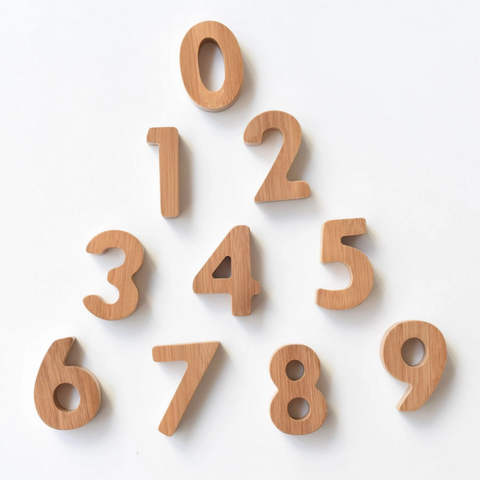 Bamboo Numbers 3yrs+