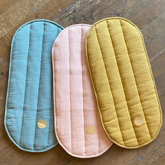 Organic Cotton Changing Mat or Changing Basket Insert