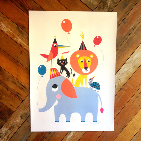 animal party print