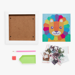Razzle Dazzle Gem Art Kit: Little Lion