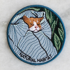 Natural Habitat Iron On Patch