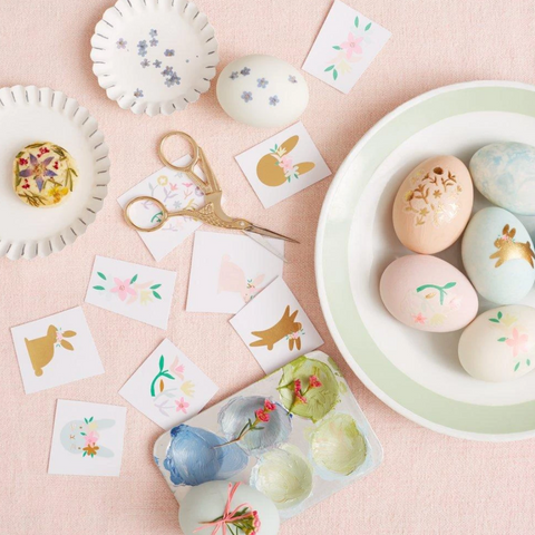 Easter Egg Decorating Tattoo Set