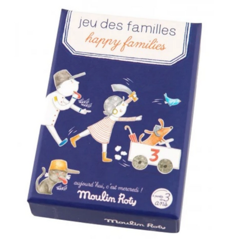 Happy Families Card Game 3+yrs