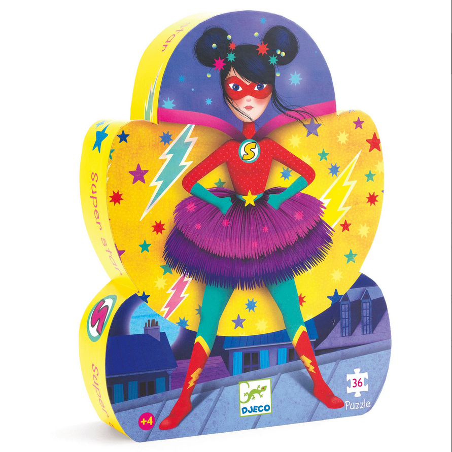 Djeco: Super Star Puzzle-36pcs