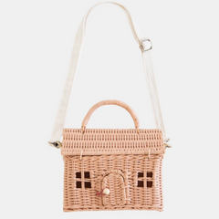 Olli Ella Casa Bag- Rose