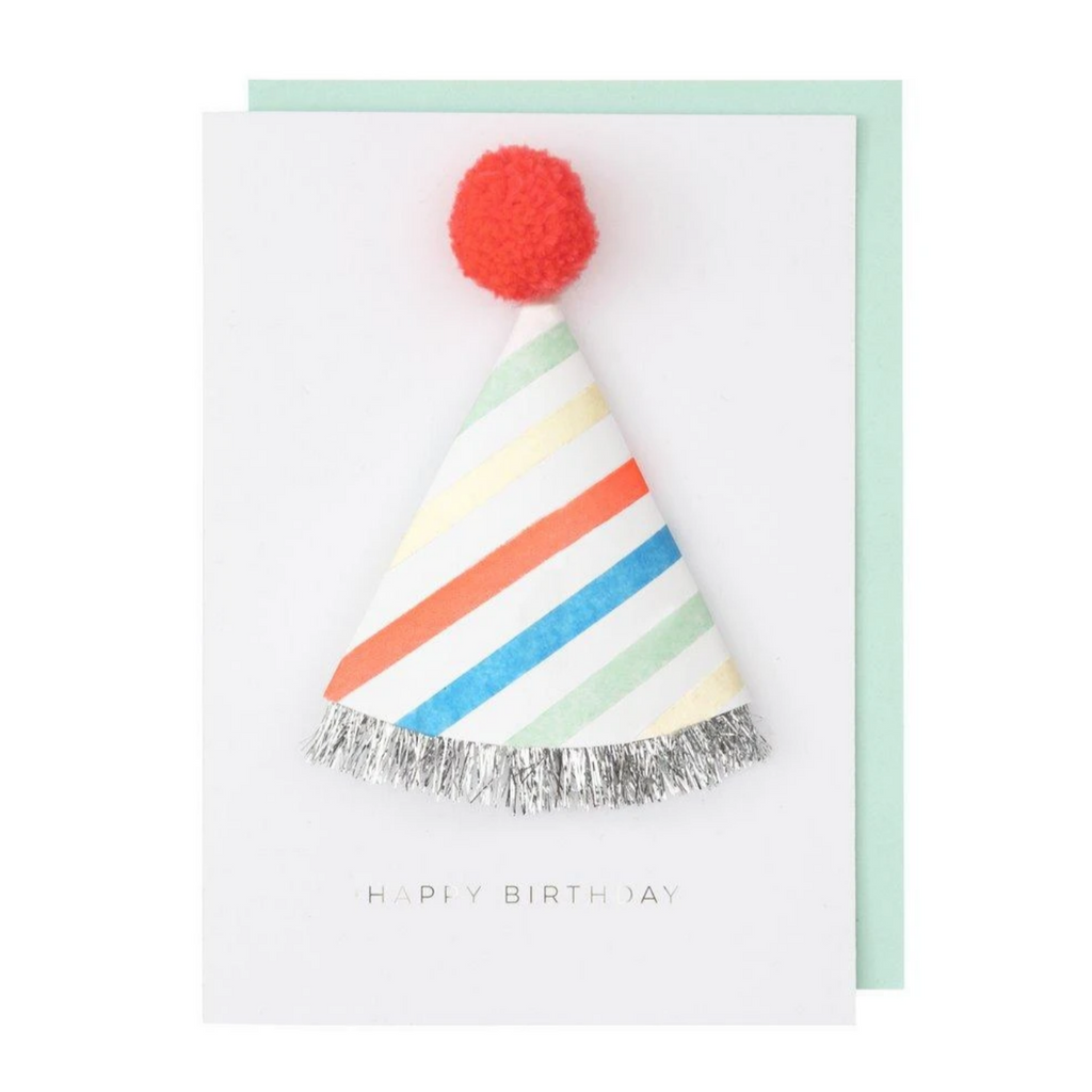 Birthday Hat Card-Birthday