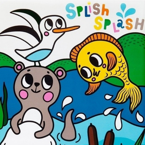 Splish Splash Magic Bath Book: Sea
