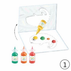 Djeco Easy Clean Painting Set- Barbouille