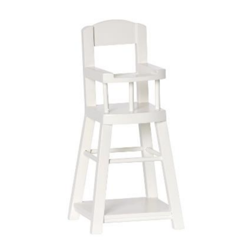 Micro Size High Chair: Off-White