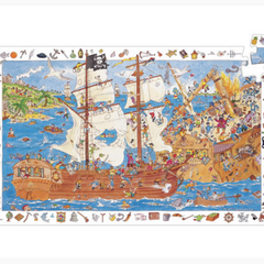 Observation Puzzles Pirates-100pcs 5+yrs