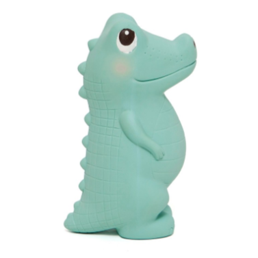 Charlie the Crocodile 100% Natural Rubber Teether Toy
