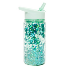 Petit Monkey Glitter Drinking Bottle