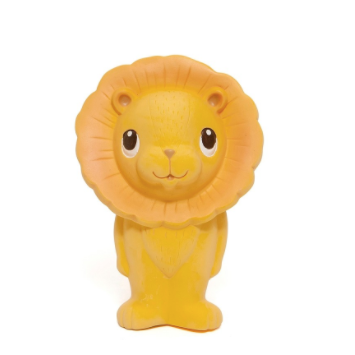 Leo the Lion 100% Natural Rubber Teether Toy