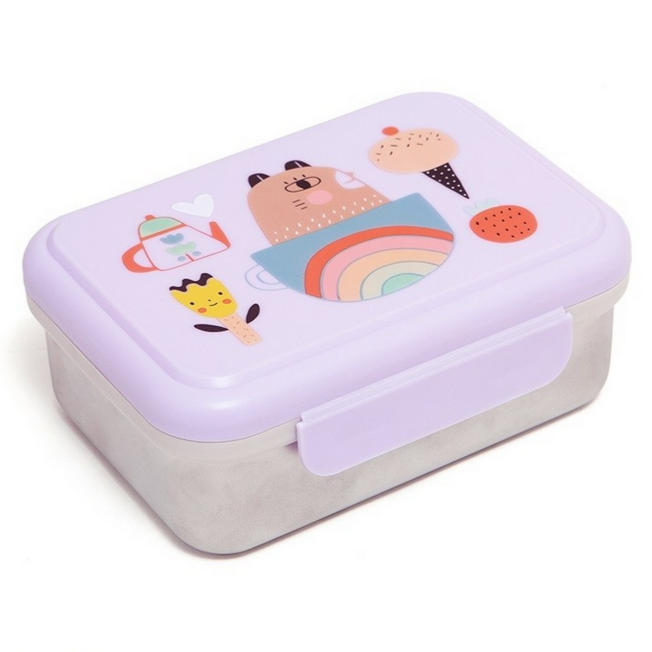 Apple of My Eye Stainless Steel Lunchbox