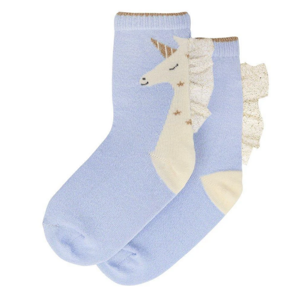 Unicorn Sparkle Socks ages 3-5yrs & 6-8yrs