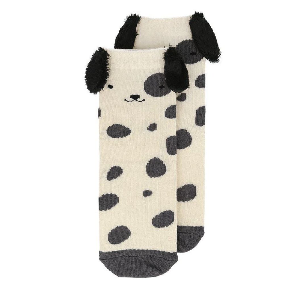 Spotty Dog Socks ages 3-5yrs & 6-8yrs