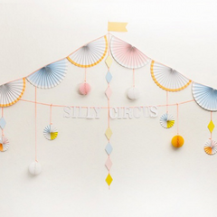Silly Circus Garland