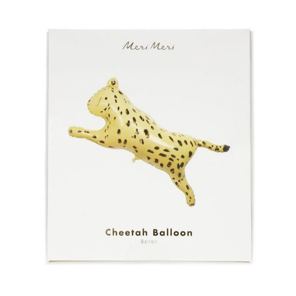 Safari Cheetah Foil Balloon