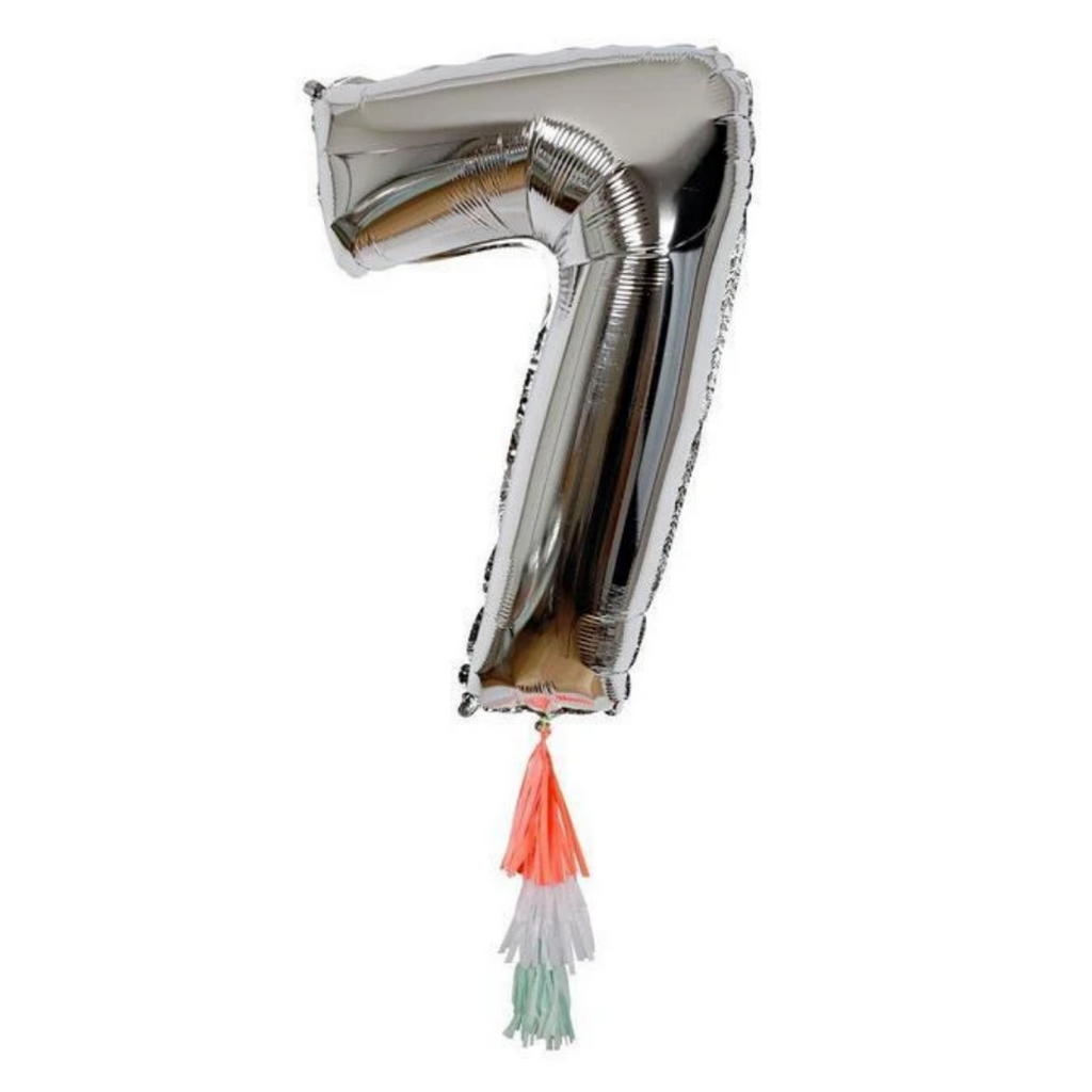 Fancy Number Balloon 7