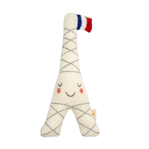 Eiffel Tower Baby Rattle