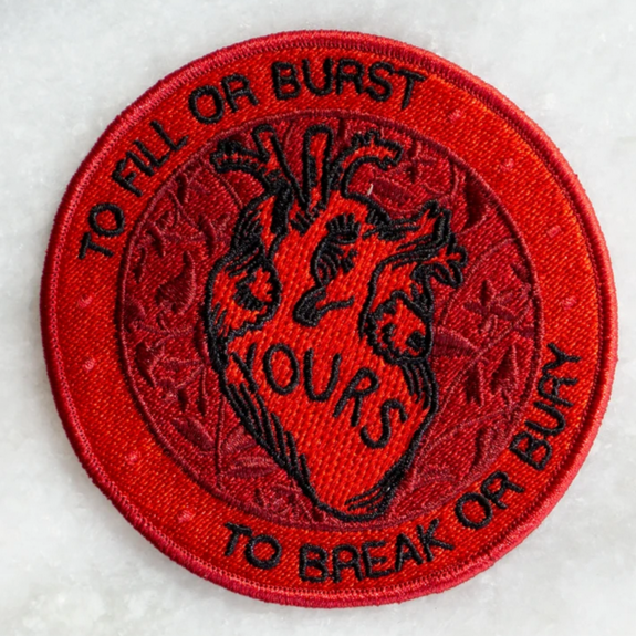 Yours To Fill Or Burst Patch