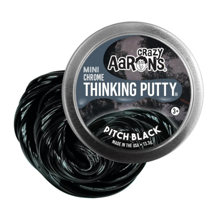 Mini Pitch Black Putty (chrome)