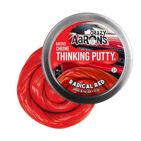 Mini Radical Red Putty (chrome)