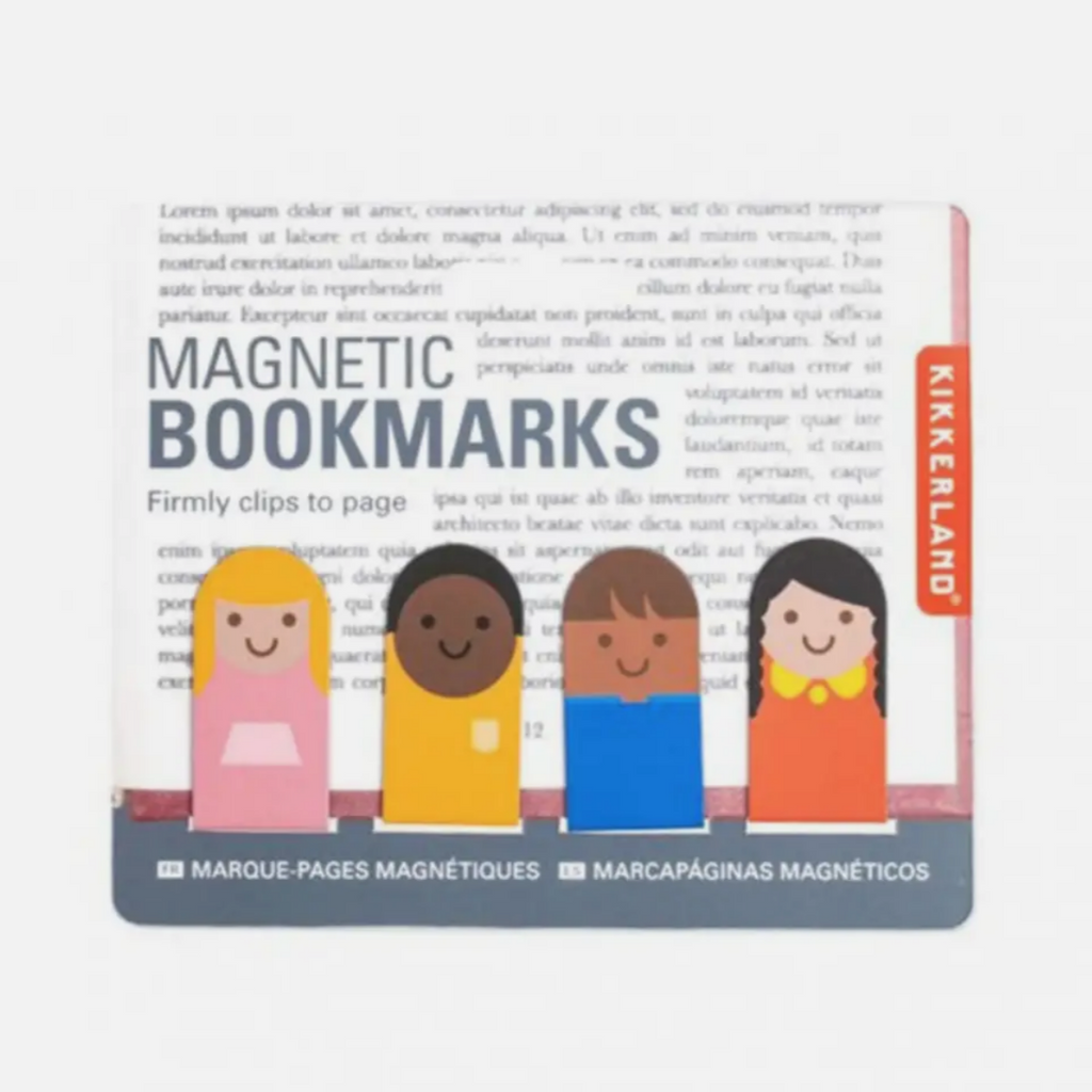 Magnetic Bookmarks -People