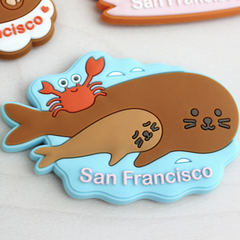 Sea Lions Magnet