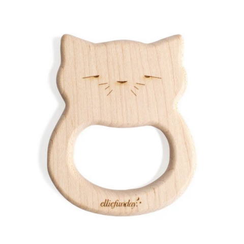 All-Natural Maple Wood Cat Teether