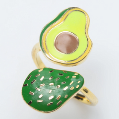 Adjustable Avocado Ring