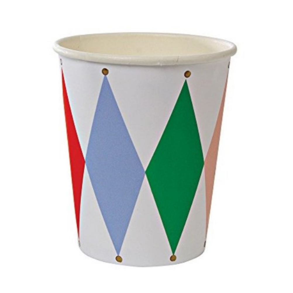 Harlequin Party Cup (pk8)