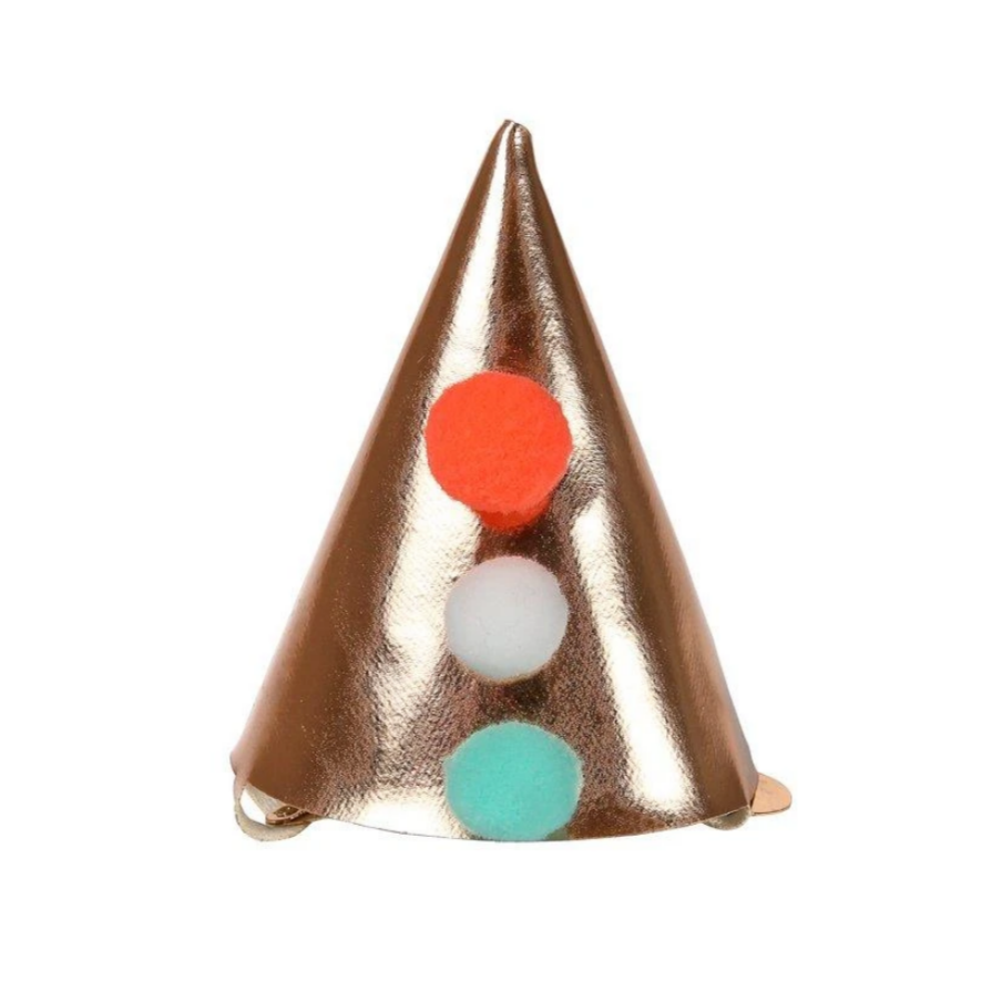 Mini Pointed Party Hat Hair Clip