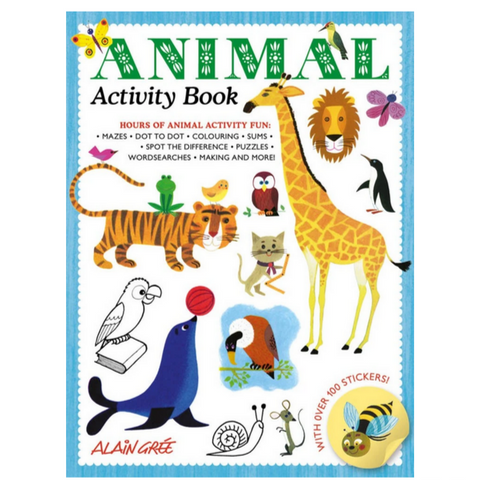 Animal Activity Book (4-8yrs)