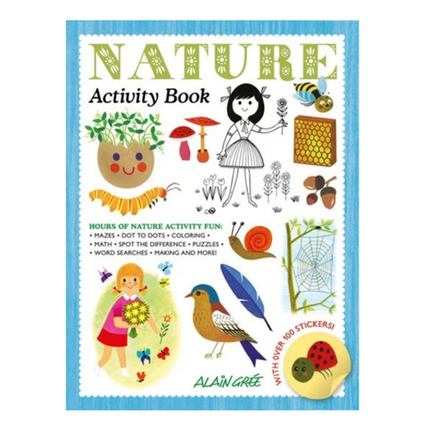 Nature Activity Book (4-8yrs)