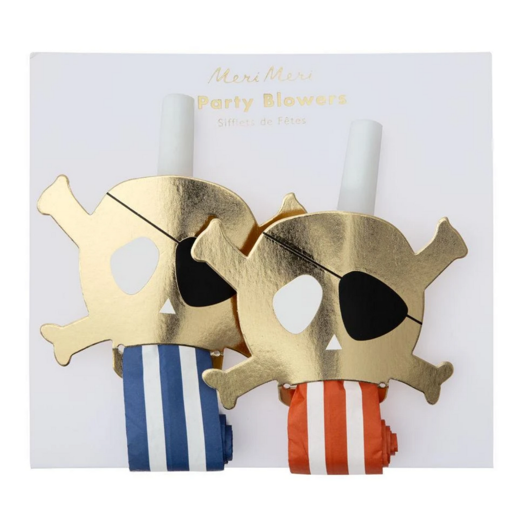 Pirates Bounty Party Blowers (pk4)