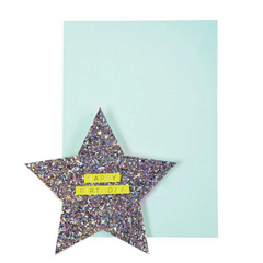 Star & Rainbow Card-Birthday