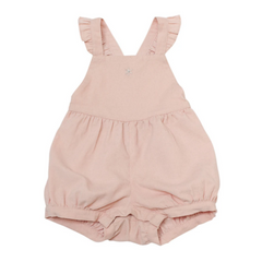 Baby Bubble Pink Romper