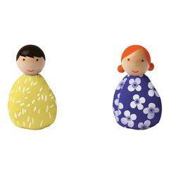 Wooden Beanbag People Set (different variations)