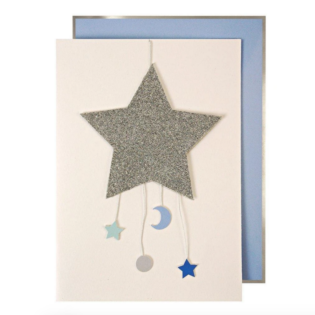 Baby Boy Mobile Card -Baby