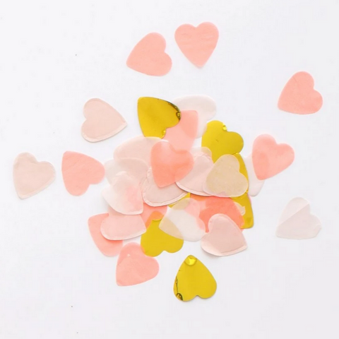 Heart Love Confetti Box