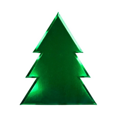 Large Christmas Tree Plates (pk8)