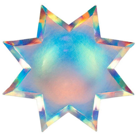 Holographic Star Plates (pk8)