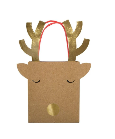 Reindeer Small Gift Bags