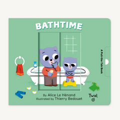 Pull and Play Books: Bathtime (0-3yrs)